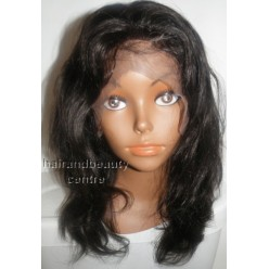 Full lace wig  Natural silky straight  10inch 1b