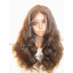 Full Lace Wig Malaysian Virgin Body wave  20inchN