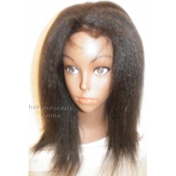 Italian Yaki Kinky Straight Lace Wig 12inch 1