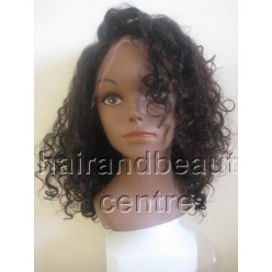 Full lace Wig 100% Brazilian Virgin Hair 14 inches curly