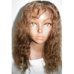 Lace Front Wig Indian Remy hair Deep Wave colour 4/30