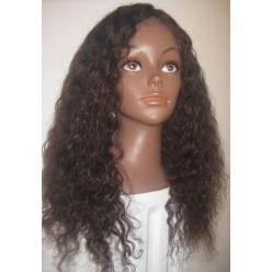 full lace wig  water wave 16inch colour 3