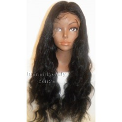 Full Lace Wig Body wave  24inch 1B full density