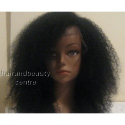 Full Lace Wig  Afro kinky 12inch colour 1