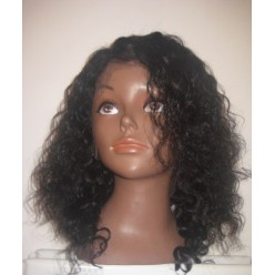 Full Lace Wig Natural Curl 10inch colour 1b