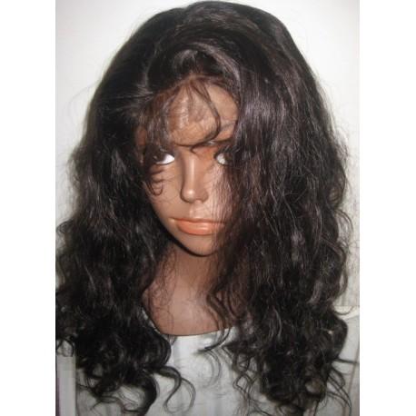 No Glue Full Lace Wig Body wave 18inch 1b