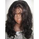 No Glue Full Lace Wig  Malaysain Body wave 18inch 1b
