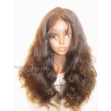 Full Lace Wig Malaysian Virgin Body wave  20inchN