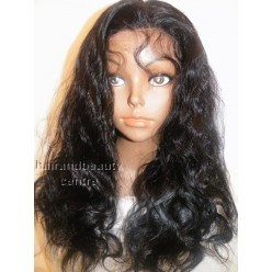 Lace Front Wig Indian Remy hair Bodywave 16inch colour 1