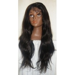 No glue full  Lace wig Brazilian Natural Straight  160% density