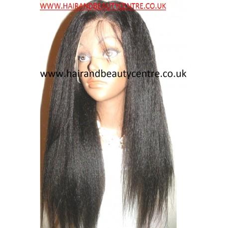 Lace Wig Kinky Straight 20inch Medium Cap