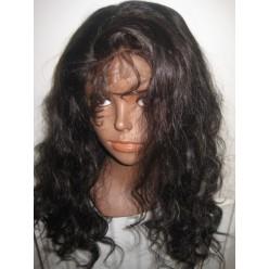 No glue Full lace wig Virgin Hair 20inch 1b