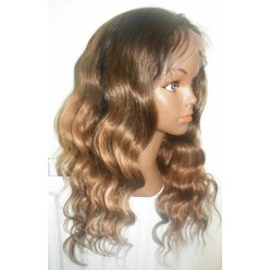 Full Lace Wig Two Tone Brazilian Body Wave