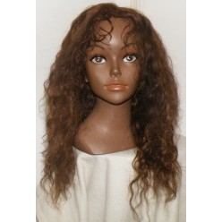 Custom Order thinskin Full lace Wig Brazilian Curly  Colour 4