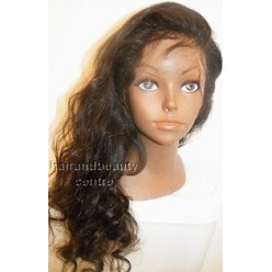 Full Lace Wig Body wave  18inch 1B