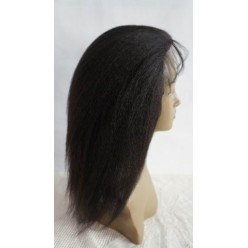 kinky Straight Lace wig in colour 1b 20inch