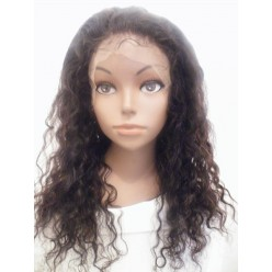 Silk Top Full Lace Wig Water Wavy 16inch 1b/33