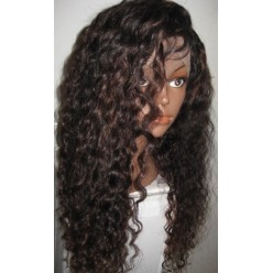 Full lace Wig Brazilian hair Curly 20inch 150% density R
