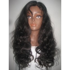 Full Lace Wig Brazilian Virgin Body wave  18inch  colour