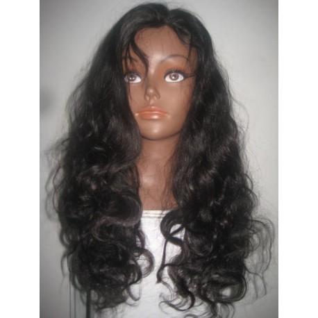 No Glue Full Lace Wig Brazilian Virgin Body wave  20inch  colour